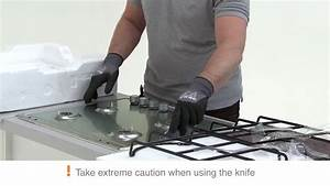 Electrolux - How To Install Built-in Stainless Steel Gas Hob Worktop