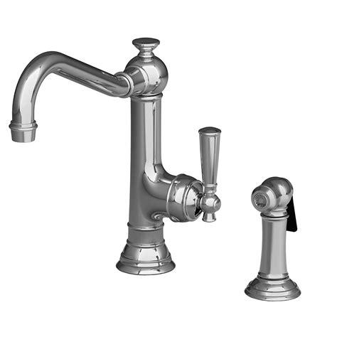 newport brass faucets newport brass 2470 5313 jacobean kitchen faucet with side