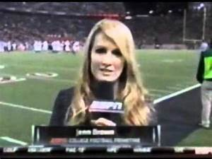 Jenn Brown, ESPN Reporter Flubs Name, Curses On Live TV ...