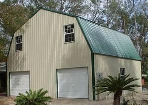 94 metal garage with overhang custom metal building With 2 story metal garage