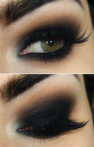 Dark dramatic smokey eye | Makeup to try | Pinterest