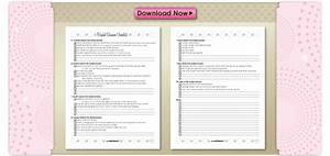 6 best images of bridal shower checklist template With wedding shower checklist