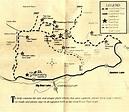 Gold Fever Trail Map | Trail maps, Road trip, Trail
