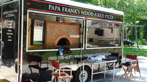 mobile pizza papa frank s mobile kitchen papa frank s pizza llc
