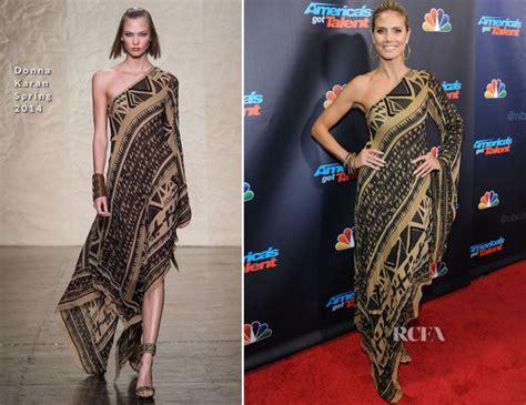 Heidi Klum Donna Karan America Got Talent Season