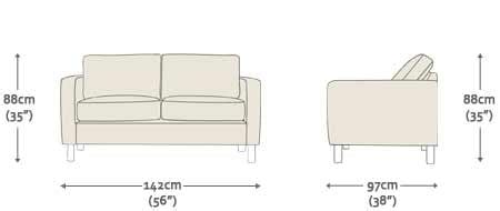 Two Seater Dimensions by Studio 3 Seater Sofa Sofas From Sofas By Saxon Uk