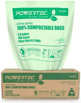 Powertec Compostable Bags