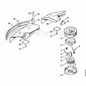 Stihl Fs 80 Brushcutter  Fs80 4137   Parts Diagram  M