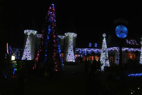 sponsored christmas town at busch gardens brings joy