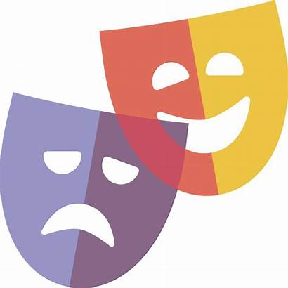 Drama Theatre Clipart Theater Dinner Transparent Masks
