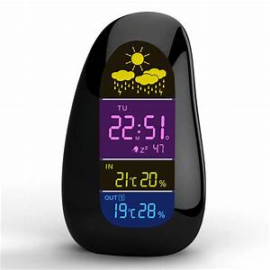 Station Meteo Sans Fil : station m t o sans fil horloge galets led r veil rapport ~ Dailycaller-alerts.com Idées de Décoration