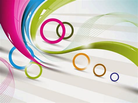 Circles and lines HD vector and art design wallpaper
