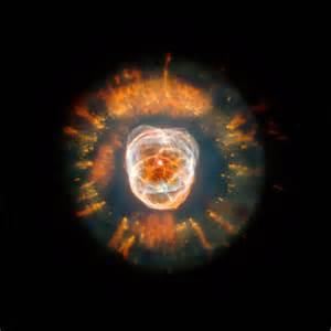 HUBBLE TELESCOPE Eskimo Nebula Space art prints