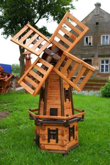 image result  wooden garden windmill project