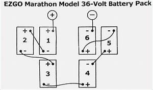 ezgo marathon wiring diagram vivresavillecom With 36 volt battery wiring diagram on marathon electric motor diagram