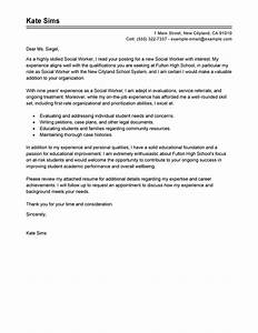 cover letter example cover letter example social services With cover letters for social service jobs