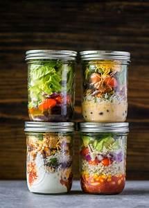 Mason, Jar, Burrito, Bowls