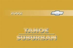 2002 Chevrolet Tahoe User Manual Pdf Chevrolet
