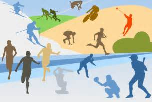 Sports Collage Clip Art