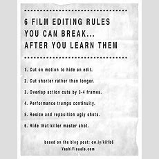 Film Editing Rules Archives Blog