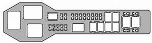 Lexus Gs430  2001 - 2002  - Fuse Box Diagram