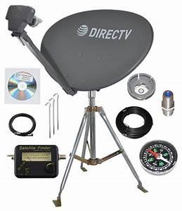 Directv Sl3 Lnb 4 Out  Portable Satellite Rv Camping