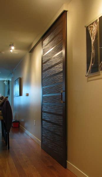 sliding barn door  tg  paneling cabinetry  doors