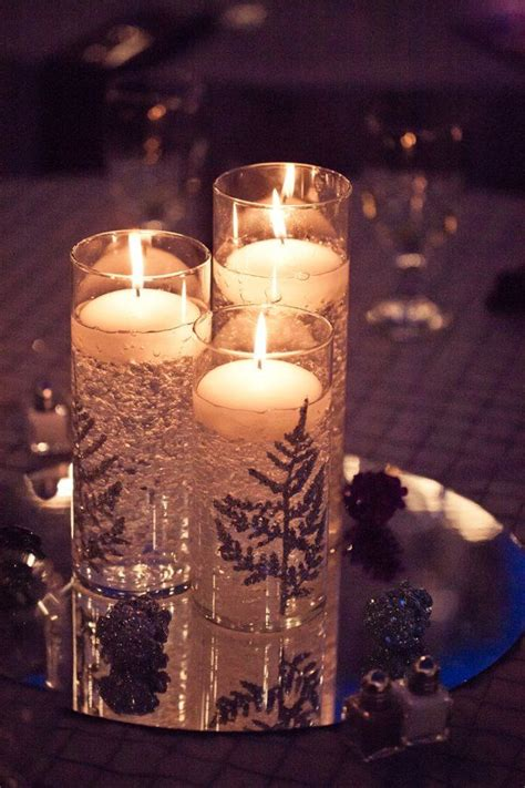 diy winter wedding decor but could use other design