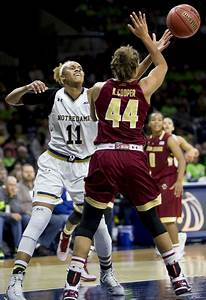 Frosh Come Up Big In Notre Dame Women 39 S Basketball Romp