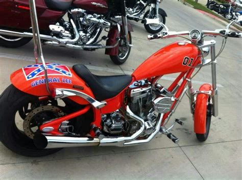 General Lee Motorcycle
