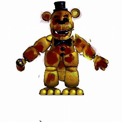 Fnaf Golden Prototype Freddy Fredbear Blood Picsart
