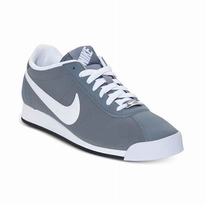 Nike Sneakers Casual Leather Cool Gray Grey