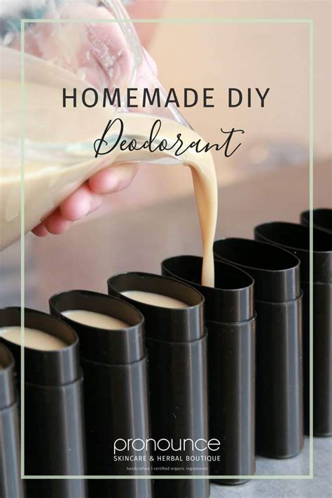 homemade diy deodorant recipe secret ingredient no