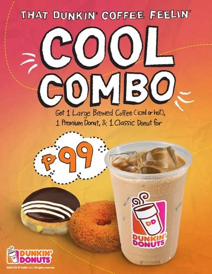 Codes (7 days ago) dunkin' donuts barkada bundle with a twist promo until january 31, 2021 step up your brunch game with sweet, comforting, classic from boxes of dunkin' donuts barkada bundle with a twist! Dunkin Donuts Philippines Price List - The Cover Letter For Teacher