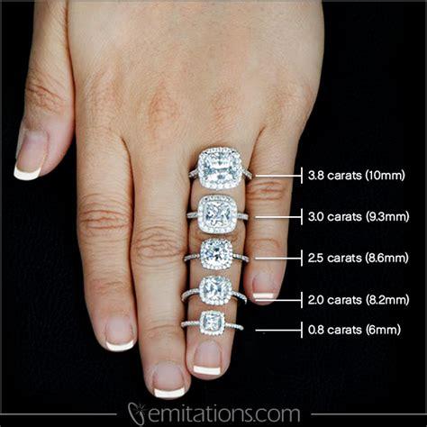 cusion cut engagement ring sheera 39 s cushion cut cz halo engagement ring 10mm