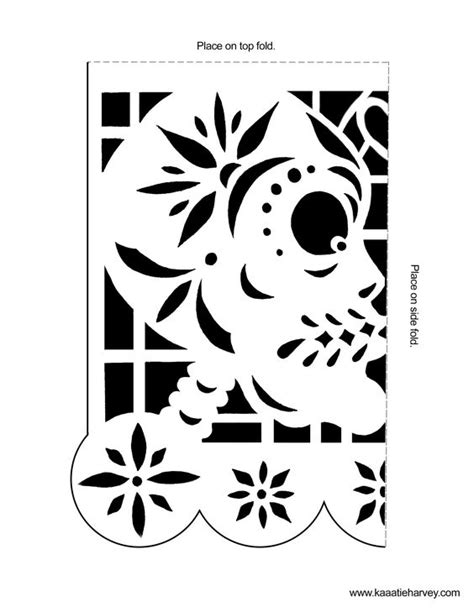 Papel Picado Template Papel Picado Banners And Templates On