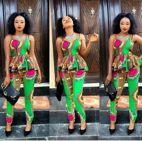 kitenge trousers  jumpsuit outfits fashenista