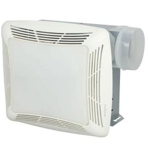 Home Depot Bathroom Exhaust Fan by Nutone 70 Cfm Ceiling Exhaust Fan With Light White Grille