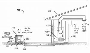 patent us20120273166 inlet air flow guide for acdx fan With fan coil unit diagram air conditioning unit diagram fan coil unit fan