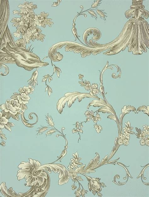 toile wallpaper ideas  pinterest toile brown