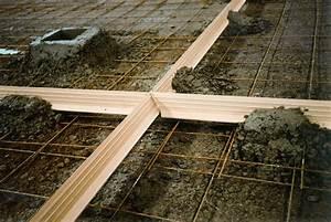Joint De Dilatation Béton Tous Les Combien : joint de dilatation pvc pour dalle beton construction ~ Nature-et-papiers.com Idées de Décoration