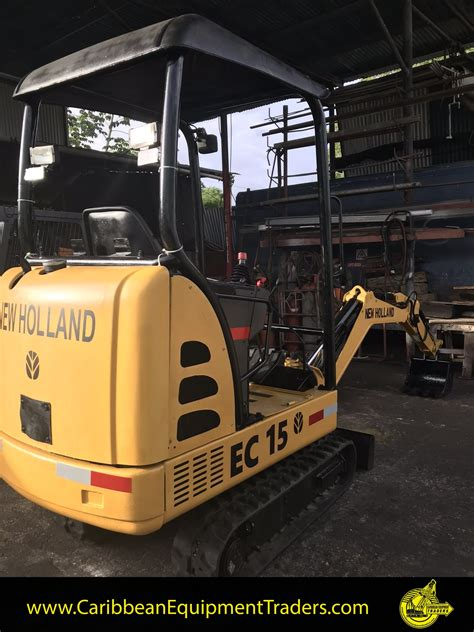 holland ec mini excavator caribbean equipment  classifieds  heavy industrial