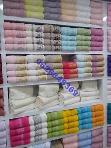 Lot De Serviette De Bain Destockage : lot serviettes 100 coton askena destockage grossiste ~ Melissatoandfro.com Idées de Décoration