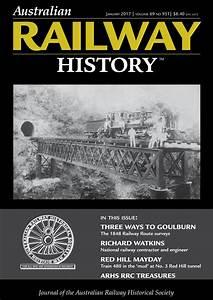 Australian Railway History Magazine - ARH January 2017 ...
