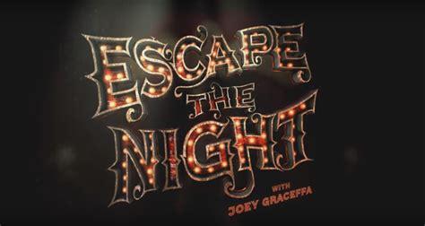 escape  night season  episode