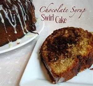 Chocolate Syrup Swirl Cake - Chocolate Chocolate and More!