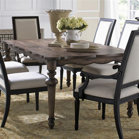 Dining Table by Pulaski Lucia Dining Table Wood Dining Tables At