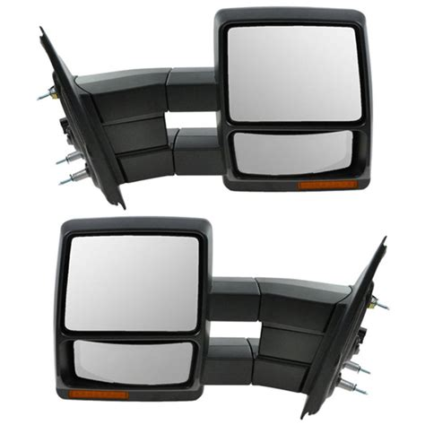 f150 power heat signal puddle l folding tow mirror left