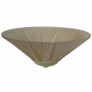 Glass ceiling light shade deco