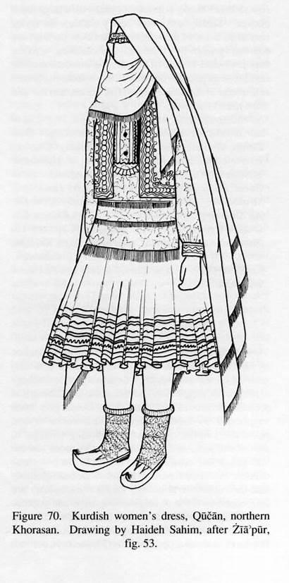 Traditional Dresses Iran Khorasan Inge Morath Iranicaonline